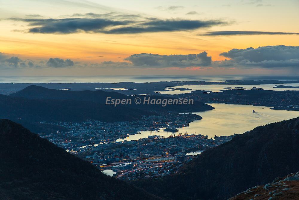 From Vidden towards Bergen