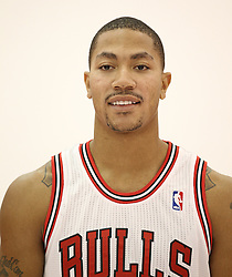 11.12.2011, The Berto Center, Deerfield, USA, NBA, Chicago Bulls Medien Tag, im Bild DERRICK ROSE CHICAGO BULLS // during Chicago Bulls Media Day at the Berto Center, Deerfield, United Staates on 2011/12/11. EXPA Pictures © 2011, PhotoCredit: EXPA/ Newspix/ Kamil Krzaczynski..***** ATTENTION - for AUT, SLO, CRO, SRB, SUI and SWE only *****