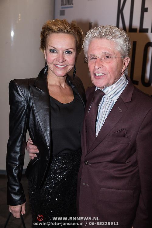 NLD/Den Haag/20131209 - Premiere de Kleine Blonde Dood, Mariska van Kolck en Jacques d' Ancona