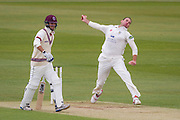 John Hastings (Durham County Cricket Club) in action during the LV County Championship Div 1 match between Durham County Cricket Club and Somerset County Cricket Club at the Emirates Durham ICG Ground, Chester-le-Street, United Kingdom on 8 June 2015. Photo by George Ledger.