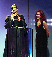 The BRIT Awards 1994 <br /> Monday 14 Feb 1994.<br /> Alexandra Palace, London, England<br /> Photo: JM Enternational