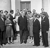 1959 Swedish Gynecologists visit Eamon de Valera