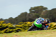 Zylas Crump, Supersport 300 in Race 1 during round 6 of the Australian Superbike Championship on October 05, 2019 at Phillip Island Circuit, Victoria. (Image Dave Hewison/ Speed Media)