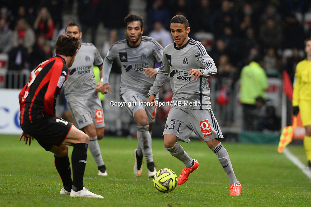 Bilel BOUTOBBA   - 23.01.2015 - Nice / Marseille - 22eme journee de Ligue 1<br />