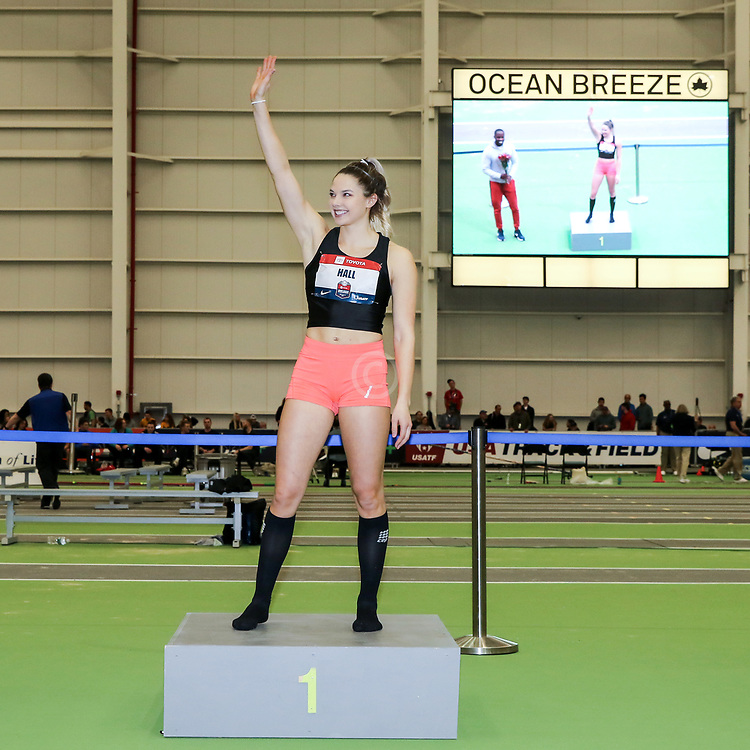 USATF Indoor Track and Field Championships<br /> held at Ocean Breeze Athletic Complex in Staten Island, New York on February 22-24, 2019;