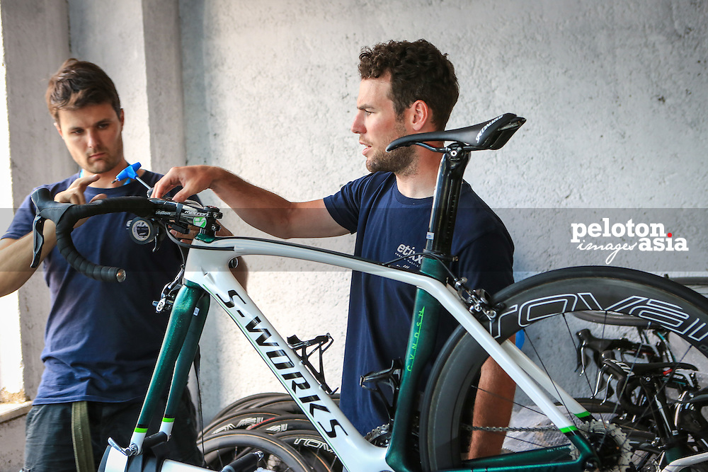 Tour of Turkey 2015 / Pre Race/ Alanya / Mark Cavendish/ CVNDSH/ Ettix Quickstep