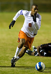Virginia Cavaliers forward/midfielder Ross LaBauex (8) in action against UMD.  The Virginia Cavaliers fell to the Maryland Terrapins 2-1 in NCAA Soccer at Klockner Stadium on the Grounds of the University of Virginia in Charlottesville, VA on October 31, 2008.