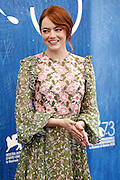 (KIKA) - VENEZIA - <br /> <br /> Emma Stone at the Venice Film Festival<br /> ©Exclusivepix Media