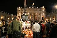 Giovanni Paolo II Veglia per Papa aprile 2005