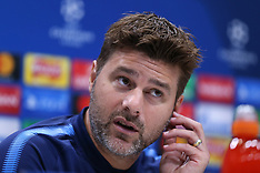 Tottenham Training and Press Conference - 12 September 2017