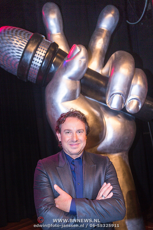 NLD/Bussum/20130828 - Persviewing RTL The Voice of Holland 2013, Marco Borsato