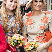 NLD/Amersfoort/20190427 - Koningsdag Amersfoort 2019, Koningin Maxima en Prinses Amalia