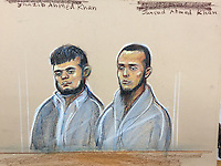 Left is Shazib Ahmed Khan<br />