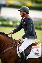 Clee Joe, (GBR), Utamaro D Ecaussines<br /> Team and 1th individual qualifier <br /> FEI European Championships - Aachen 2015<br /> © Hippo Foto - Dirk Caremans<br /> 19/08/15
