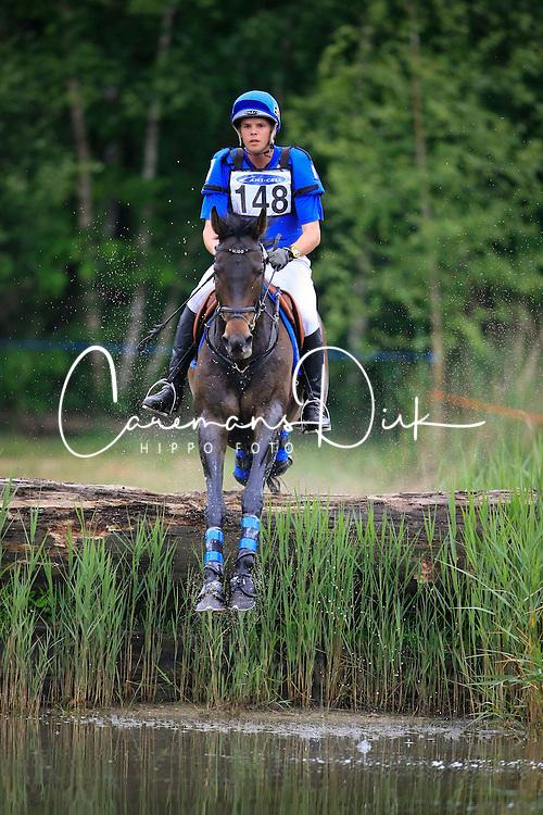 Van Winkel Steve (BEL) - Hugoke<br /> Nationaal Kampioenschap LRV  Minderhout 2009<br /> CIC* Mibderhout 2009<br /> Photo © Dirk Caremans