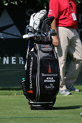 September 20, 2018 - Atlanta, GA, U.S. - ATLANTA, GA - SEPTEMBER 20: Kyle Stanley's golf bag during the first round of the PGA Tour Championship on September 20, 2018, at East Lake Golf Club in Atlanta, GA. (Photo by Michael Wade/Icon Sportswire) (Credit Image: © Michael Wade/Icon SMI via ZUMA Press)