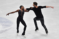 Vanessa JAMES, Morgan CIPRES FRANCE <br /> Bronze  Medal <br /> PAIRS FREE SKATING <br /> Milano 22/03/2018 Assago Forum <br /> Milano 2018 - ISU World Figure Skating Championships <br /> Foto Andrea Staccioli / Insidefoto