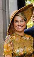Milan, 23-06-2017 <br /> <br /> State visit from King Willem-Alexander and<br /> Queen M&aacute;xima to The Republic of Italy and The Holy See in Vatican City.<br /> <br /> Attend programs Economic Mission Cultural Heritage, Water and Fashion &amp; Textiles<br /> <br /> <br />  <br /> <br /> <br /> COPYRIGHT: ROYALPORTRAITS EUROPE/ BERNARD RUEBSAMEN