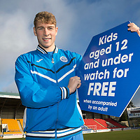 St Johnstone's David Wotherspoon..<br /> Picture by Graeme Hart.<br /> Copyright Perthshire Picture Agency<br /> Tel: 01738 623350  Mobile: 07990 594431