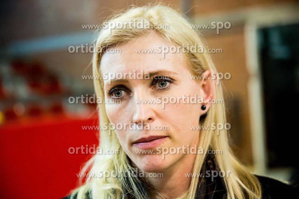 Deja Doler Ivanovic after the 2nd Leg handball match between RK Krim Mercator and HC Lada Togliatti (RUS) in Semifinal of Women Cup Winners' Cup 2015/16, on April 9, 2016 in Arena Kodeljevo, Ljubljana, Slovenia. Photo by Vid Ponikvar / Sportida