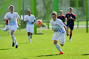 01.04.2017; Zuerich; <br /> Fussball FC Zuerich - FE15 Oberland - Red Star;<br /> Lenny Brauchli (Zuerich)  <br /> (Andy Mueller/freshfocus)