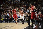 euroleague<br /> OLIMPIA MILANO-OLYMPIACOS<br /> NELLA FOTO DANIEL HACKETT<br /> FOTO CIAMILLO