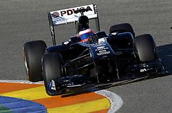 Motorsports / Formula 1: World Championship 2011, Test Valencia, Rubens Barrichello ( BRA, Williams )