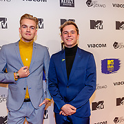 NLD/Amsterdam/20181029 - MTV pre party 2018, Stefan de Vries en ......