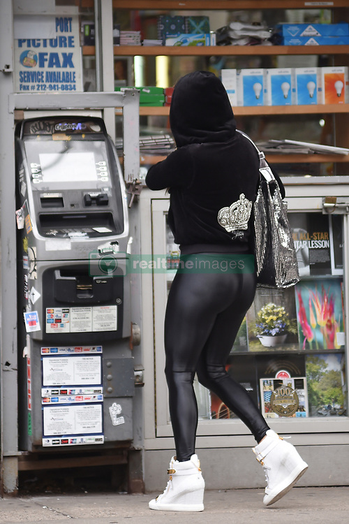 March 29, 2019 - New York, New York, U.S. -  Jennifer Lopez was seen on location for 'Hustlers' on March 29, 2019 in New York City. (Credit Image: © Kristin Callahan/Ace Pictures via ZUMA Press)