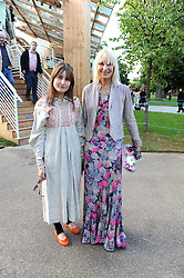Left to right, DAISY BATES and her mother VIRGINIA BATES at a party at the Serpentine Gallery, Kensington Gardens, London to unveil their summer Pavilion designed by Frank Gehry on 20th July 2008.<br /> <br /> NON EXCLUSIVE - WORLD RIGHTS
