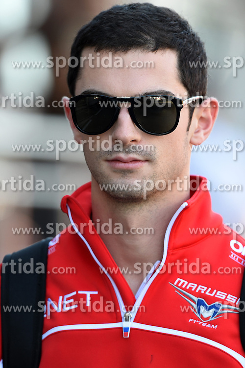 06.09.2014, Autodromo di Monza, Monza, ITA, FIA, Formel 1, Grand Prix von Italien, Qualifying, im Bild Alexander Rossi (ITA) Marussia. // during the Qualifying of Italian Formula One Grand Prix at the Autodromo di Monza in Monza, Italy on 2014/09/06. EXPA Pictures &copy; 2014, PhotoCredit: EXPA/ Sutton Images<br /> <br /> *****ATTENTION - for AUT, SLO, CRO, SRB, BIH, MAZ only*****
