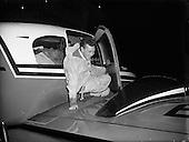 1957 – 27/02 Max Conrad, Co-Pilot of 'Piper Apache' which arrived in Dublin