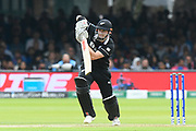 Henry Nicholls of New Zealand batting during the ICC Cricket World Cup 2019 Final match between New Zealand and England at Lord's Cricket Ground, St John's Wood, United Kingdom on 14 July 2019.