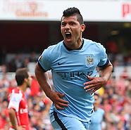Arsenal v Manchester City 130914