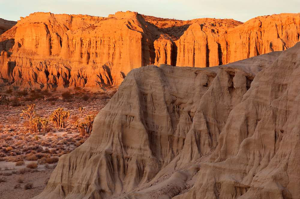 Sunrise at Badlands, Red Rock Canyon State Park, California, United States of America