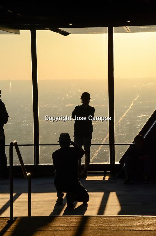 Views from John Hancock Observatory