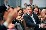 Nederland, Nijmegen, 25-4-2010Het congres van de PvdA stond in het teken van het afscheid van Wouter Bos, vaststelling van de kandidatenlijst voor de tweede kamer verkiezingen en het kiezen van Job Cohen als lijsttrekker.Foto: Flip Franssen/Hollandse Hoogte