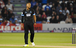 Sussex's Chris Jordan reacts.  - Mandatory by-line: Alex Davidson/JMP - 01/06/2016 - CRICKET - The 1st Central County Ground - Hove, United Kingdom - Sussex v Somerset - NatWest T20 Blast