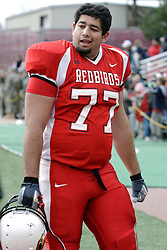 04 November 2006: Muhammad Kahlun. &#xD;In a decisive victory, the Illinois State Redbirds defeat the Missouri State Bears 38-14 at Hancock Stadium on the campus of Illinois State University in Normal Illinois.<br />