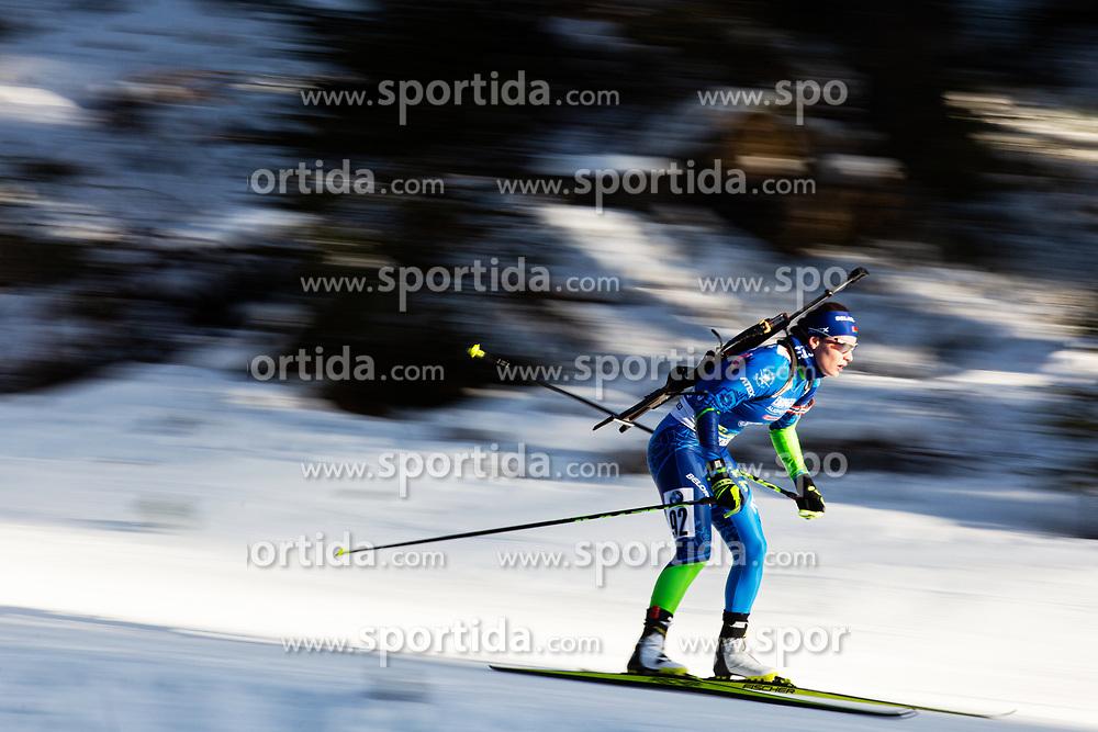 Irina Kruchinkina (BLR) during the Women 15 km Individual Competition at day 2 of IBU Biathlon World Cup 2019/20 Pokljuka, on January 23, 2020 in Rudno polje, Pokljuka, Pokljuka, Slovenia. Photo by Peter Podobnik / Sportida