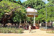 Park in Quivican, Mayabeque, Cuba.