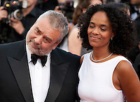 Luc Besson and Virginie Silla at the gala screening for the film The Last Face at the 69th Cannes Film Festival, Friday 20th May 2016, Cannes, France. Photography: Doreen Kennedy