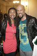l to r: Raquiyah Mays and Common at Metro PCS 5 Boro Tour featuring The Dream, Jasimine Sullivan and Common held at The Brooklyn Academy of Music(BAM) on March 10, 2009 in Brooklyn , NY.
