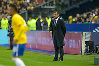 Dunga  - 26.03.2015 - France / Bresil - Match Amical<br />