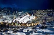 The event venue of the winter X-Games on Buttermilk Mountain in Aspen, Colorado.