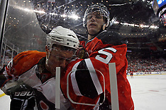 October 3, 2009: Philadelphia Flyers at New Jersey Devils