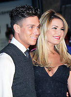 Joey Essex; Sam Faiers, Flight UK Film Premiere, Empire Cinema Leicester Square, London UK, 17 January 2013, (Photo by Richard Goldschmidt)
