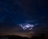 Lightning over Feldkirch