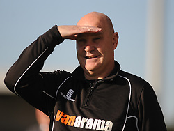 Richard Hill Manager, Eastleigh FC, Barnet v Eastleigh, Vanarama Conference, Saturday 4th October 2014