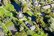 Nederland, Friesland, Gemeente De Friese Meren, 10-10-2014; Joure, Penninga's Molen.<br /> <br /> luchtfoto (toeslag op standard tarieven);<br /> aerial photo (additional fee required);<br /> copyright foto/photo Siebe Swart